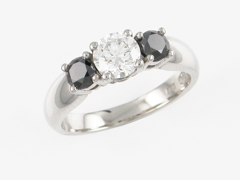 Platinum Diamond Engagement Ring Auckland Jewellery Rings